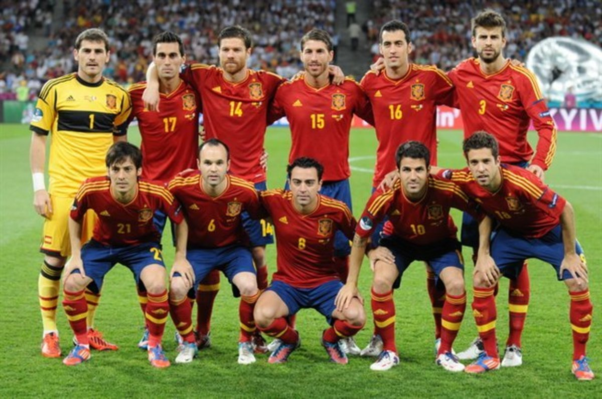Can anyone match Spain as the greatest team ever  eea529f6f