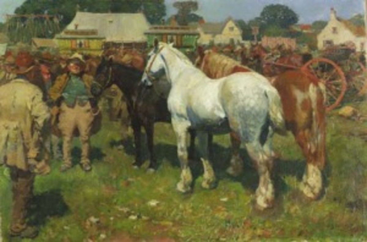 a literary analysis of the symbolism in the horse dealers daughter by d h lawrence Places of interest bookmark this page  the newport jewish literary and social institute met regularly at  to complete the symbolism the twelve pillars.