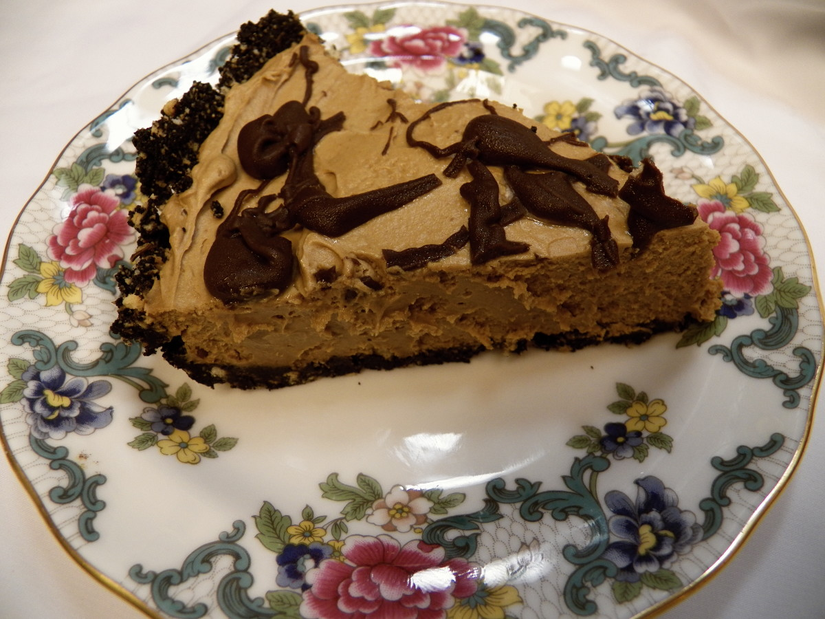 Chocolate peanut butter pie: Evaluate the dessert choices at your favorite restaurant (that should be fun to research!).