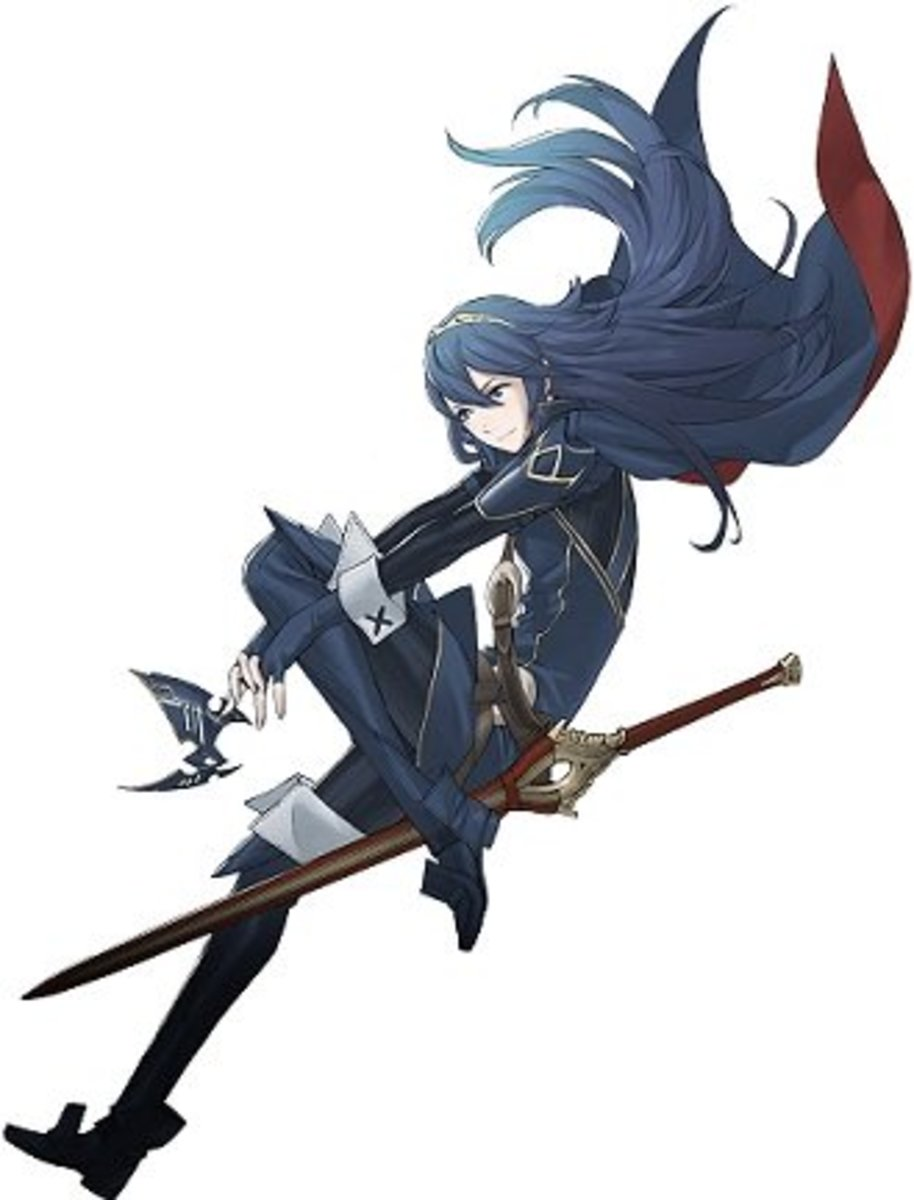 Lucina, the daughter of Chrom and the third best unit of Fire Emblem: Awakening, in my opinion.