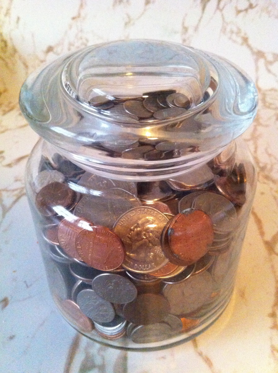 How to Collect Your Spare Change for Extra Money
