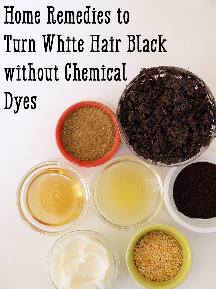 How to Turn Grey or White Hair Black Naturally: 16 Remedies