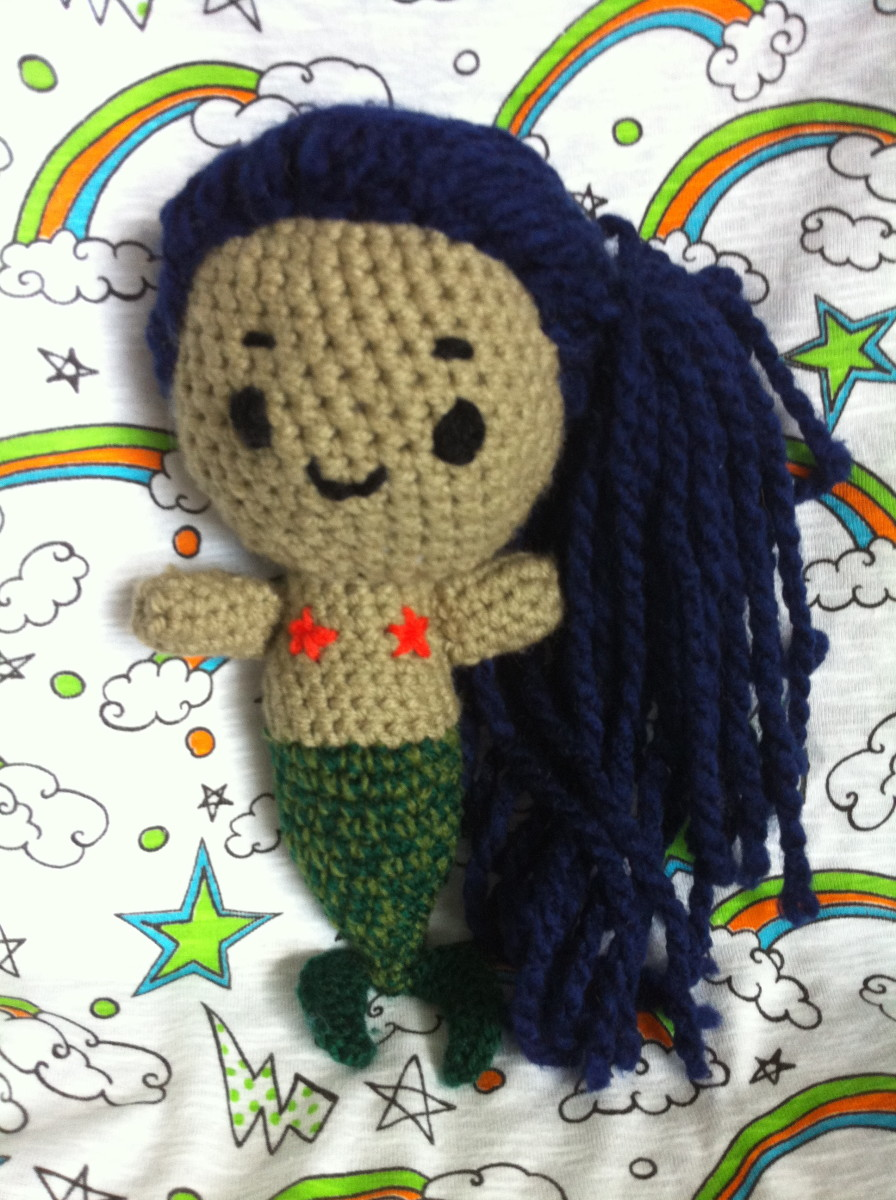Crochet an Amigurumi Mermaid With This Free Pattern