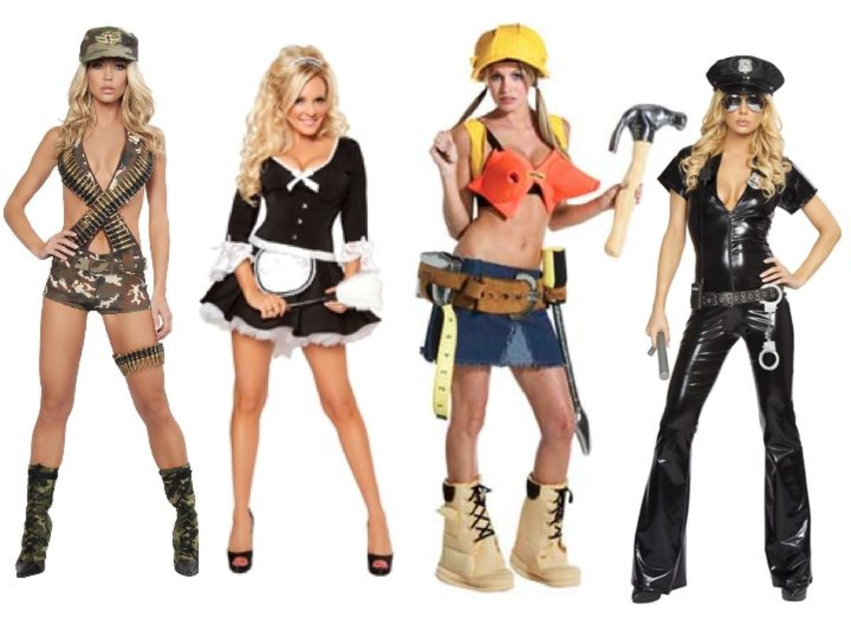 Occupational Women Halloween Costumes  sc 1 st  Holidappy & Occupation Halloween Costumes Men vs Women | Holidappy