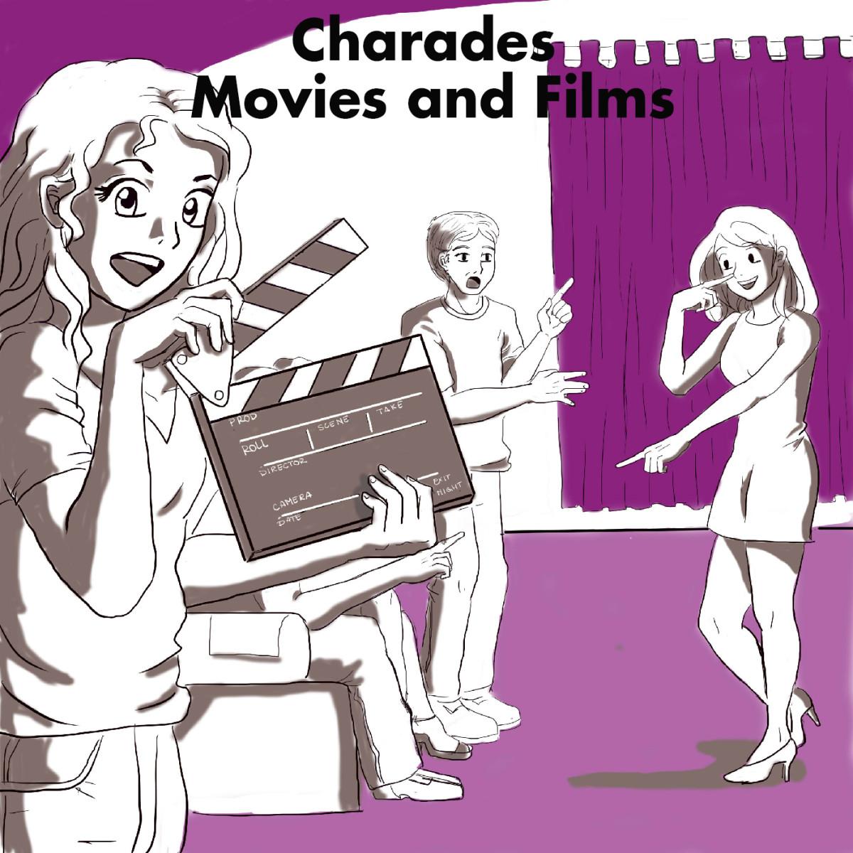 Charades Movie Ideas | HobbyLark