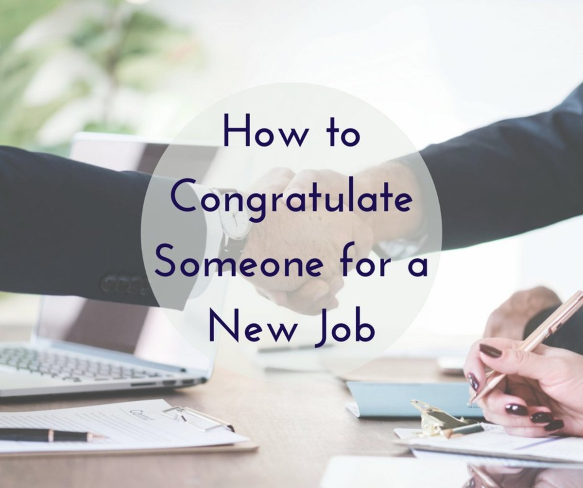 Congratulations on a New Job: Wishes, Messages, and Quotes for a Card or Greeting