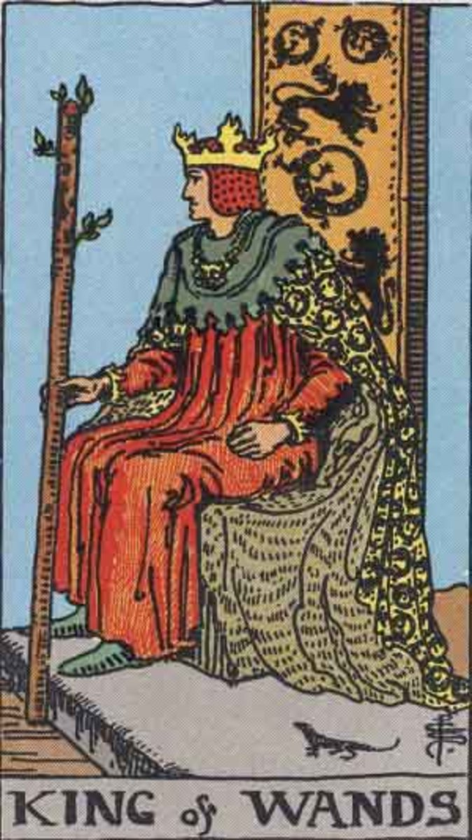 Court Cards – King of Wands