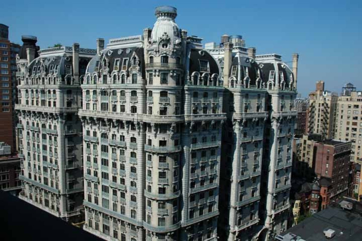 The Ansonia Hotel, 2109 Broadway, Upper West Side, Manhattan