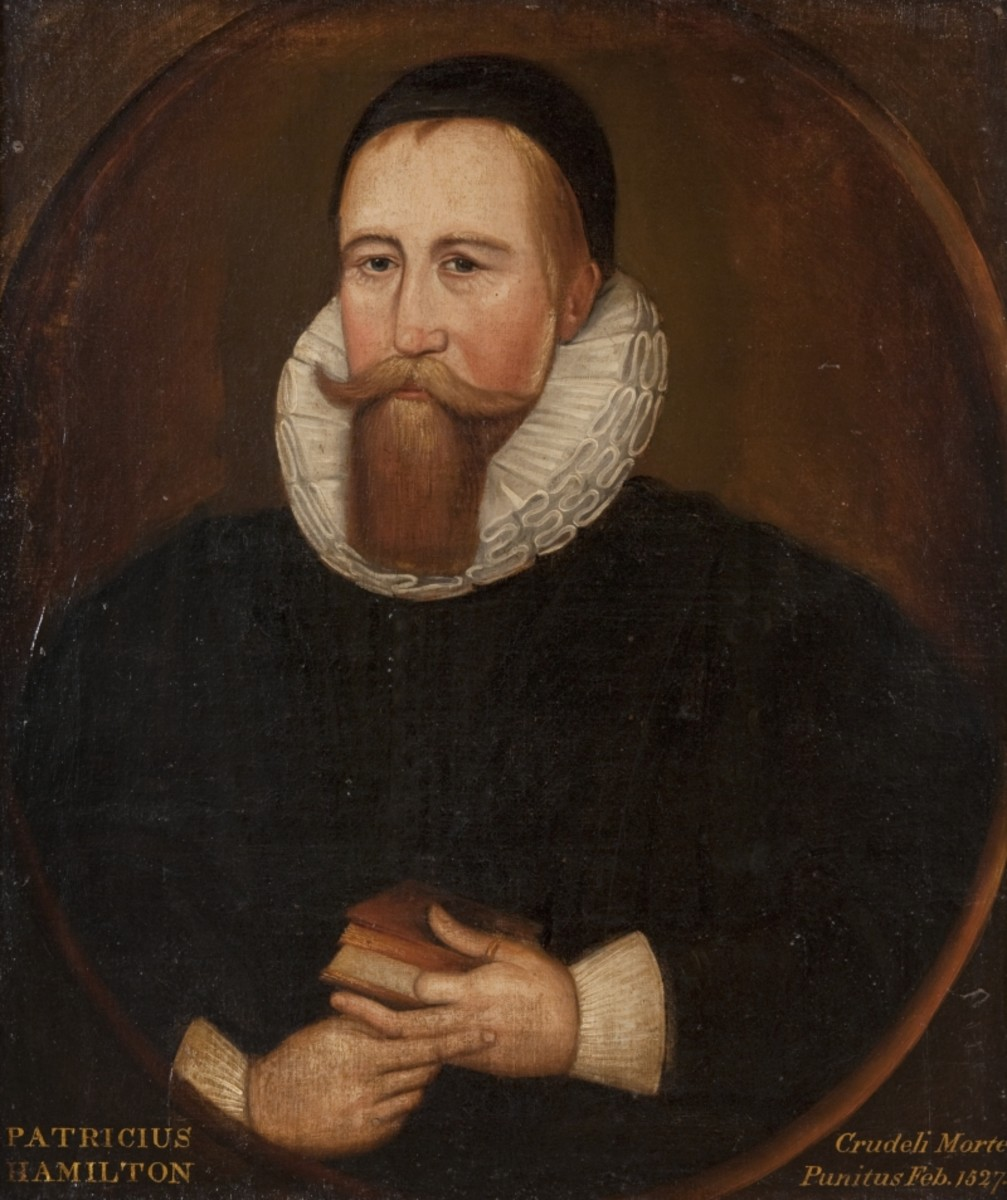 Only known portrait of Patrick Hamilton