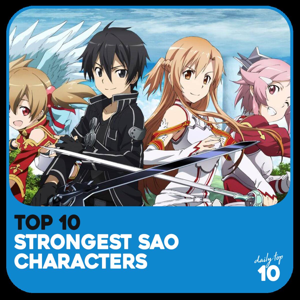 Top 10 Strongest Sword Art Online Characters