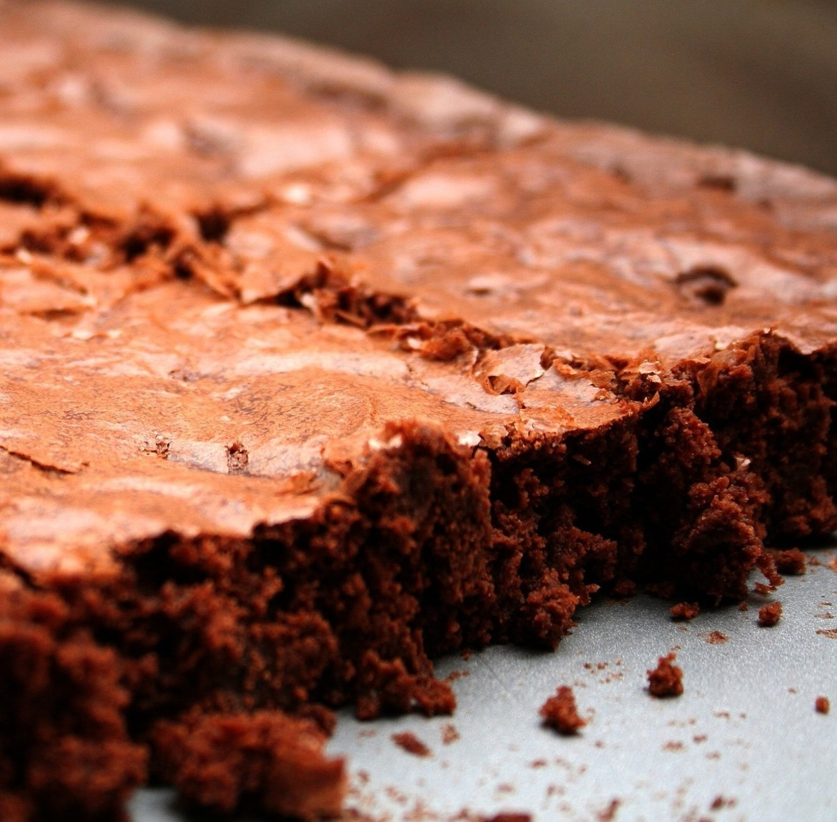 Dark Chocolate Salted Brownies