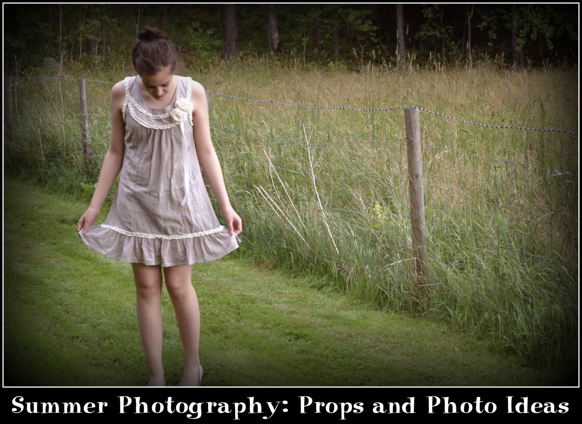 Summer Photography: Props and Photo Ideas