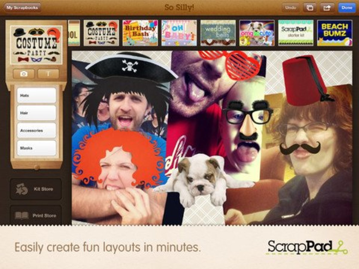 5 Scrapbooking Apps for iPad