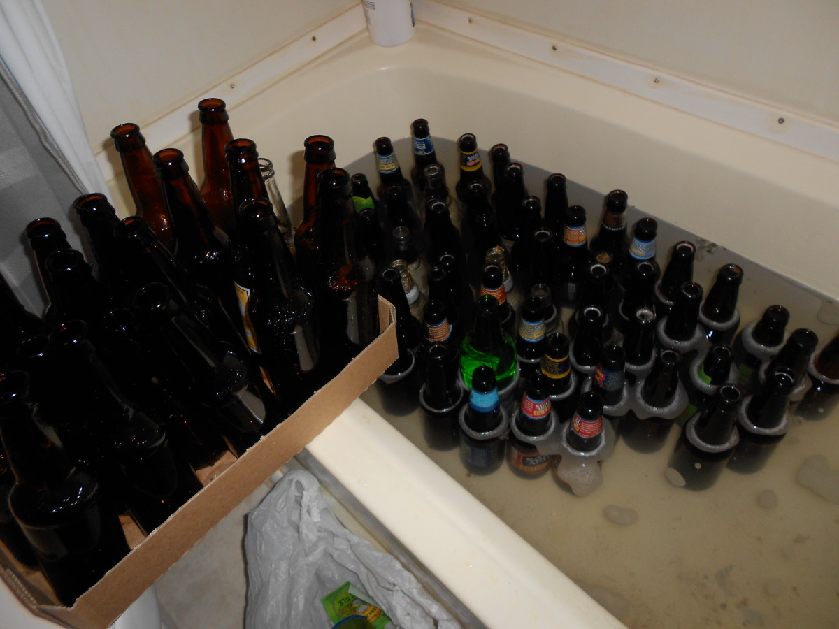 How to clean beer bottles for homebrew