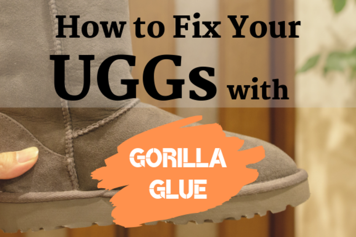 Is there a hole in your UGGs or knockoff boots? Try a DIY fix with glue!