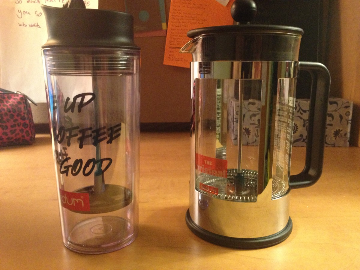 Two Versions of the French Press