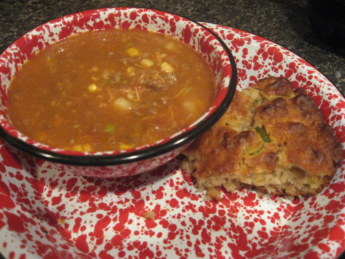 Brunswick Stew with Mexican Cornbread