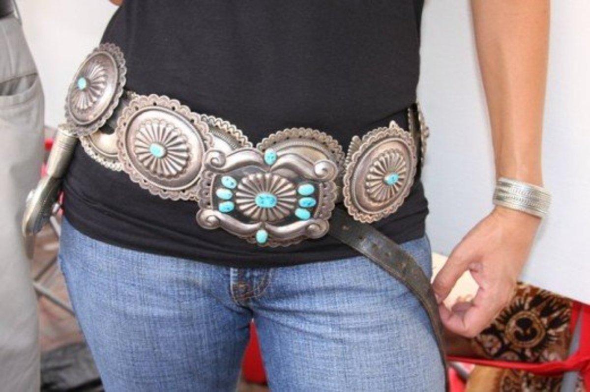 I Love Concho Belts