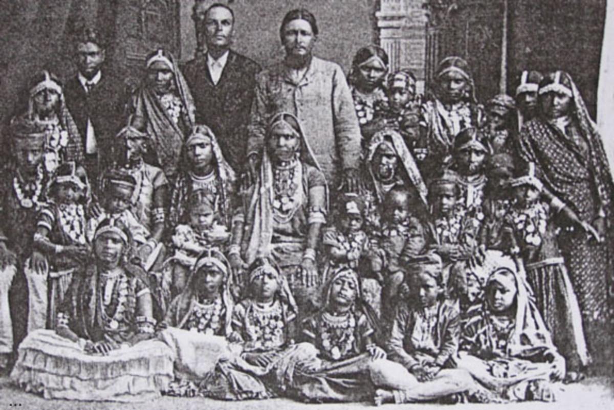 Asian Indian servants in British Guyana