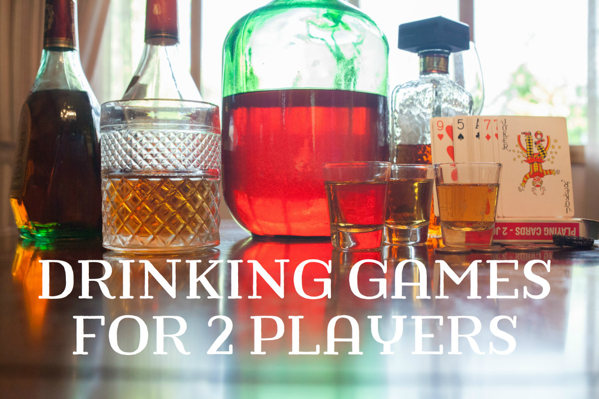 Learn about ten fun drinking games appropriate for two players!