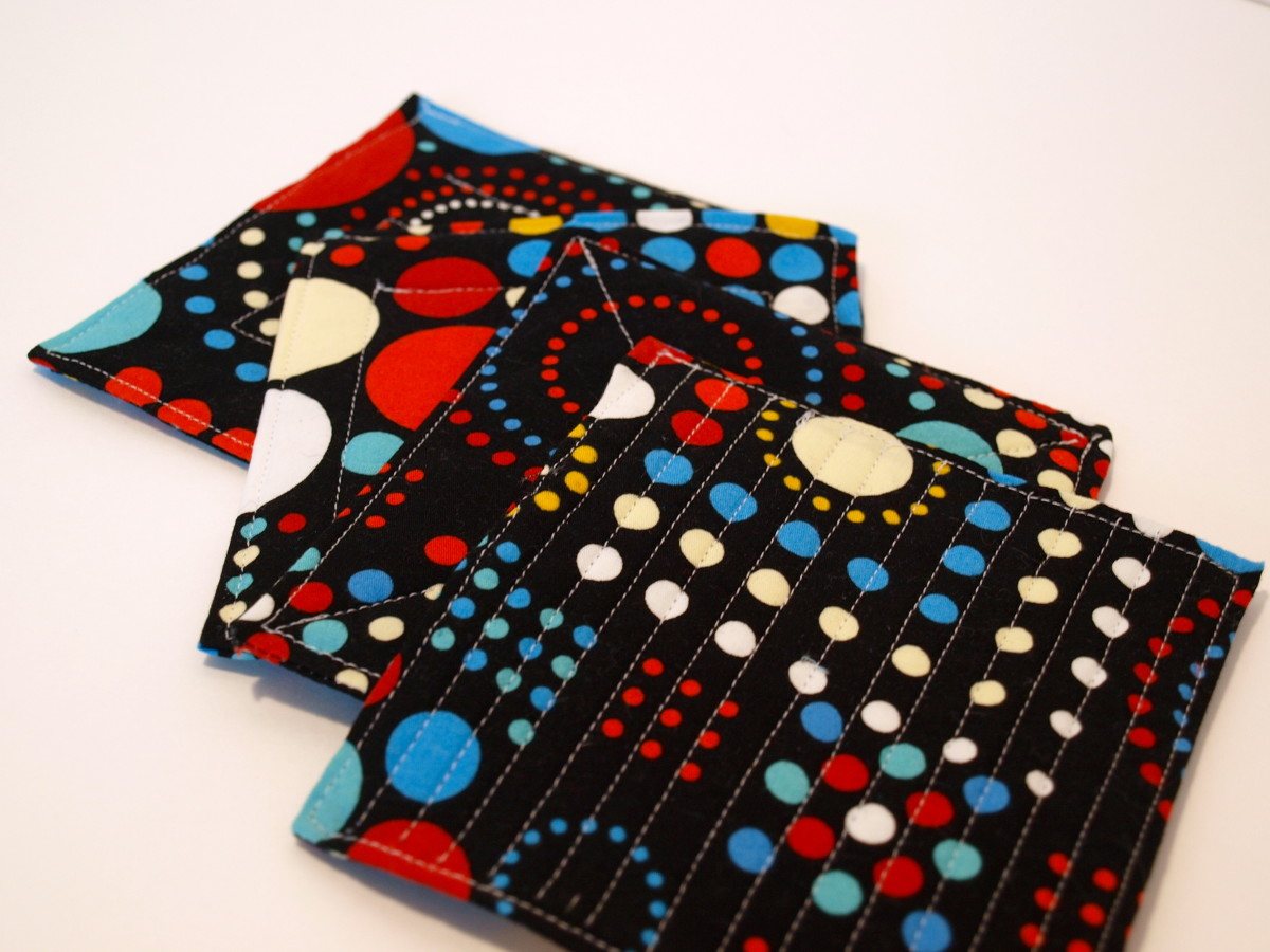 Quilted Coasters Tutorial