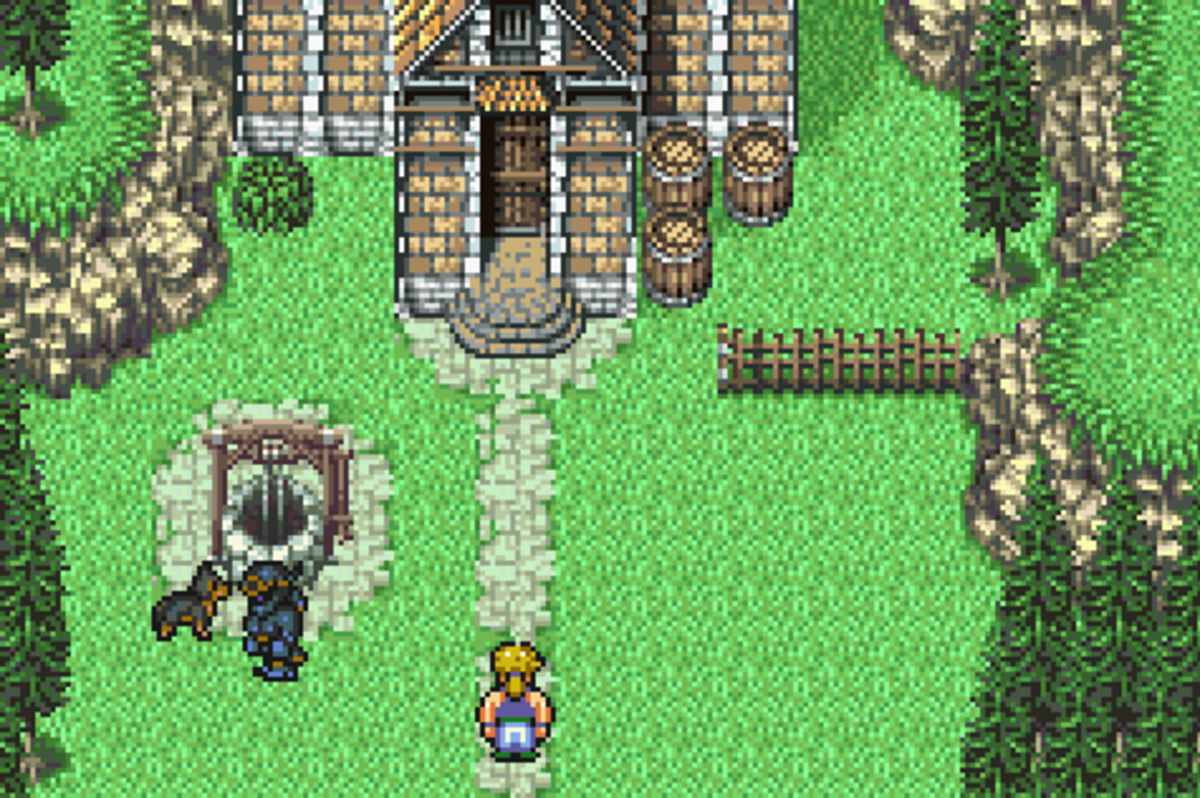 Final Fantasy VI walkthrough, Part Nine: Sabin's Scenario