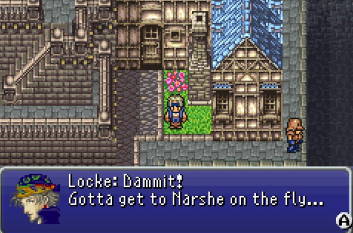 Final Fantasy VI walkthrough, Part Ten: Locke's Scenario