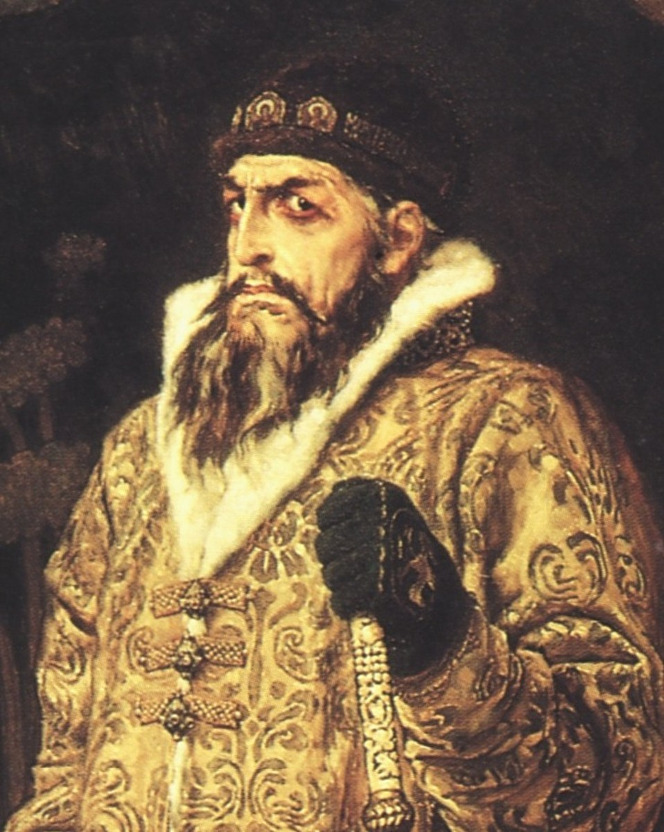 Ivan IV of Russia (Ivan the Terrible).