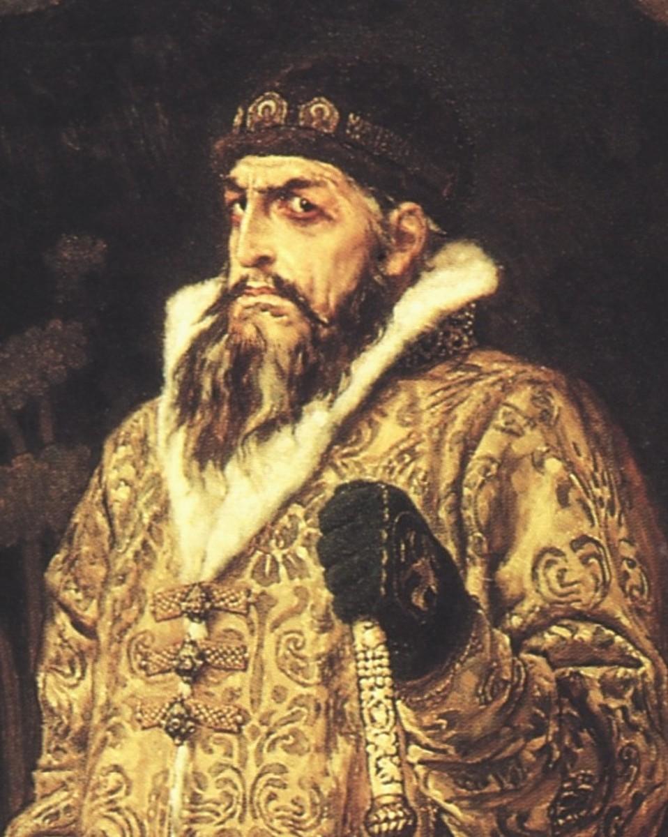 Ivan IV of Russia (Ivan the Terrible).