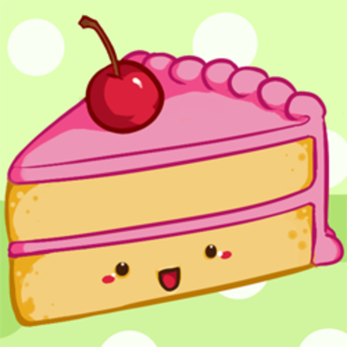 kawaii cute cake slice how to draw