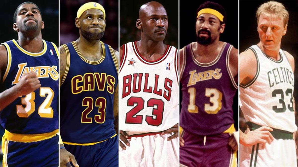 Top 10 Nba Players Ever Howtheyplay Sports