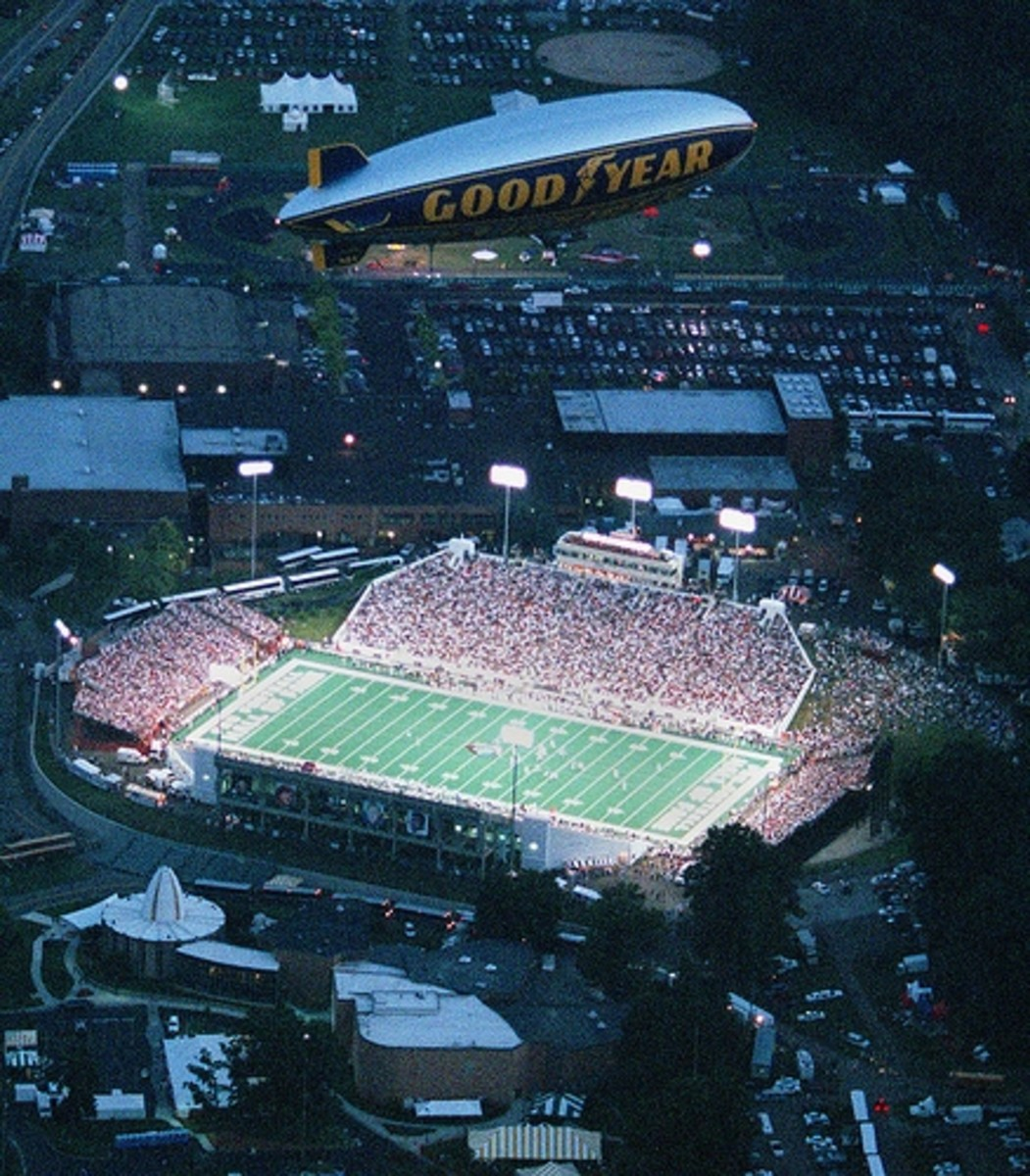 The Browns' first preseason game was played in Canton in 1999, their first game after their return to Cleveland.