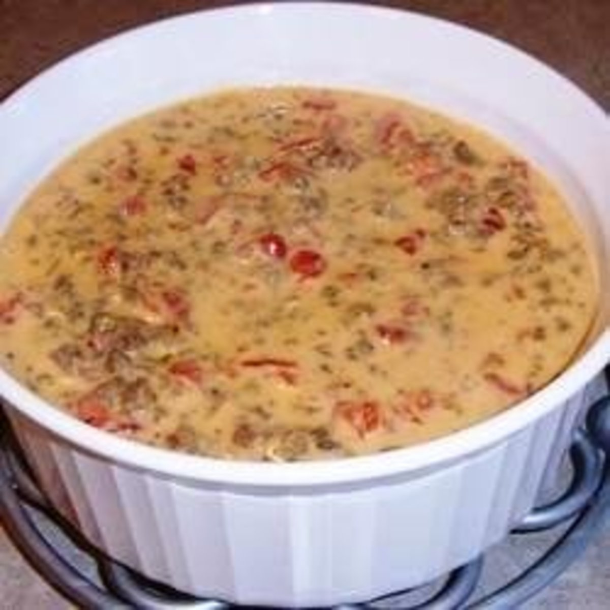 Spicy Rotel Cheese Dip Recipe Delishably