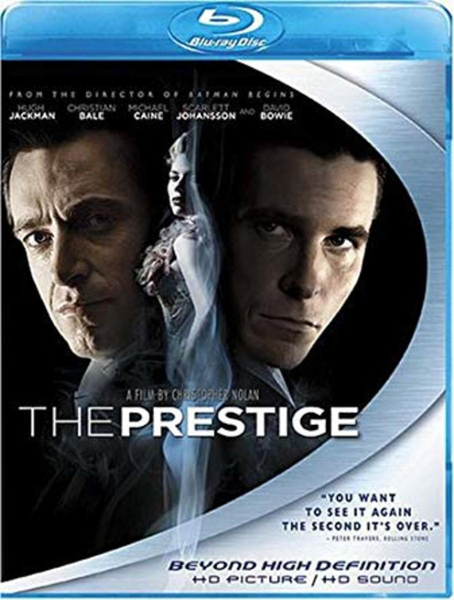 The Prestige Blu-Ray cover.