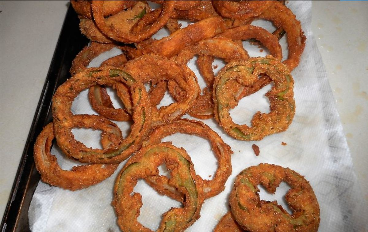 Minnesota Cooking: Deep Fried Onion Rings With a Buttermilk Marinade