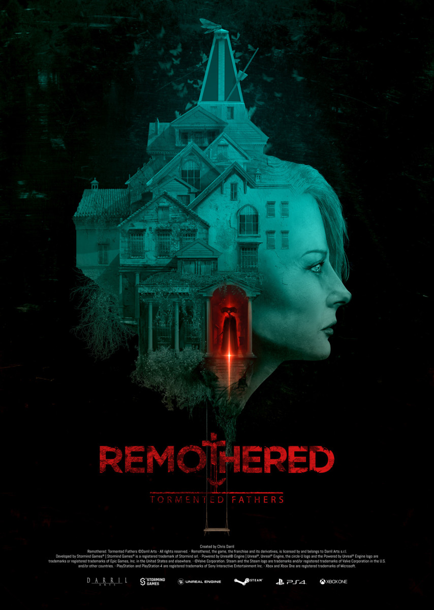 """Remothered: Tormented Fathers"" Cover Art"