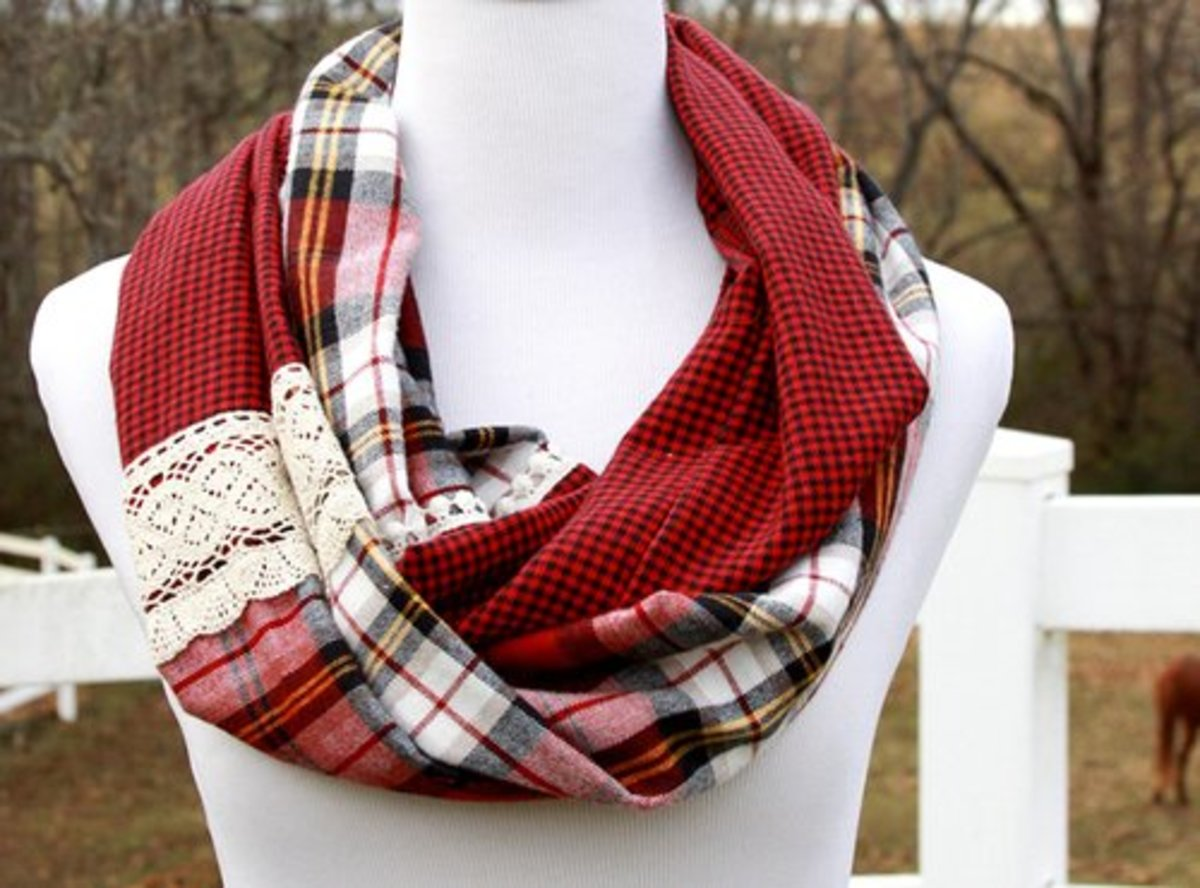 38 Classy Plaid Flannel Crafts