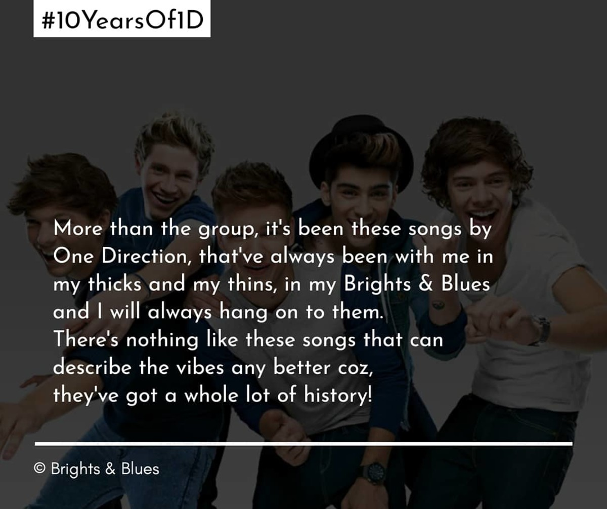To All The Times They've Been With Me - #10yearof1d