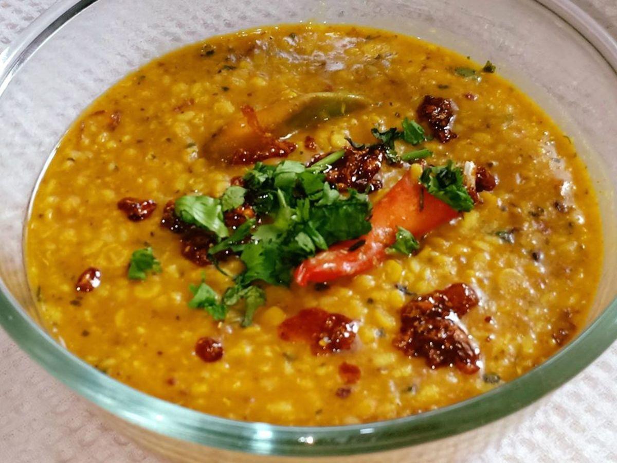 Authentic Punjabi Maa Chole ki Dal (Mixed Lentil Curry Recipe)