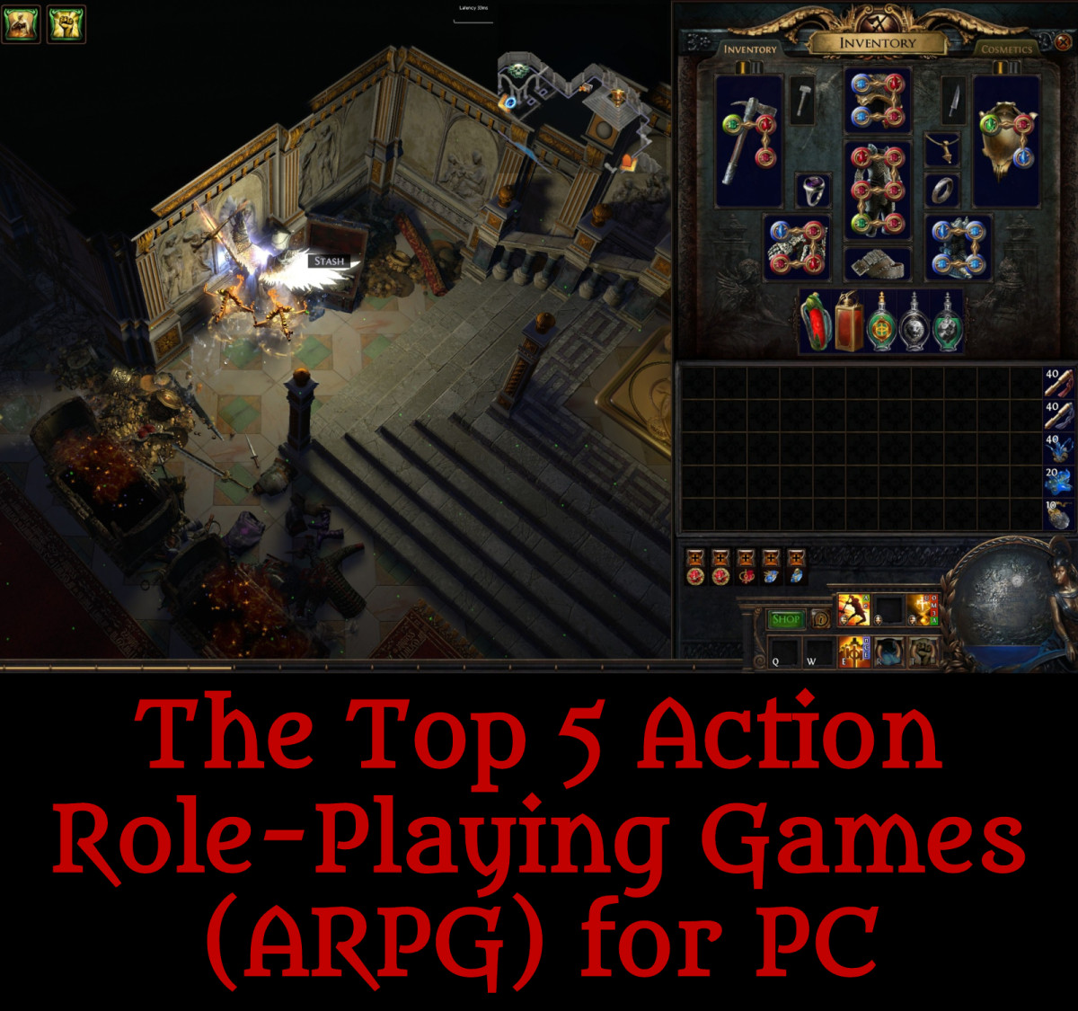 Read on for the best ARPGs for PC!