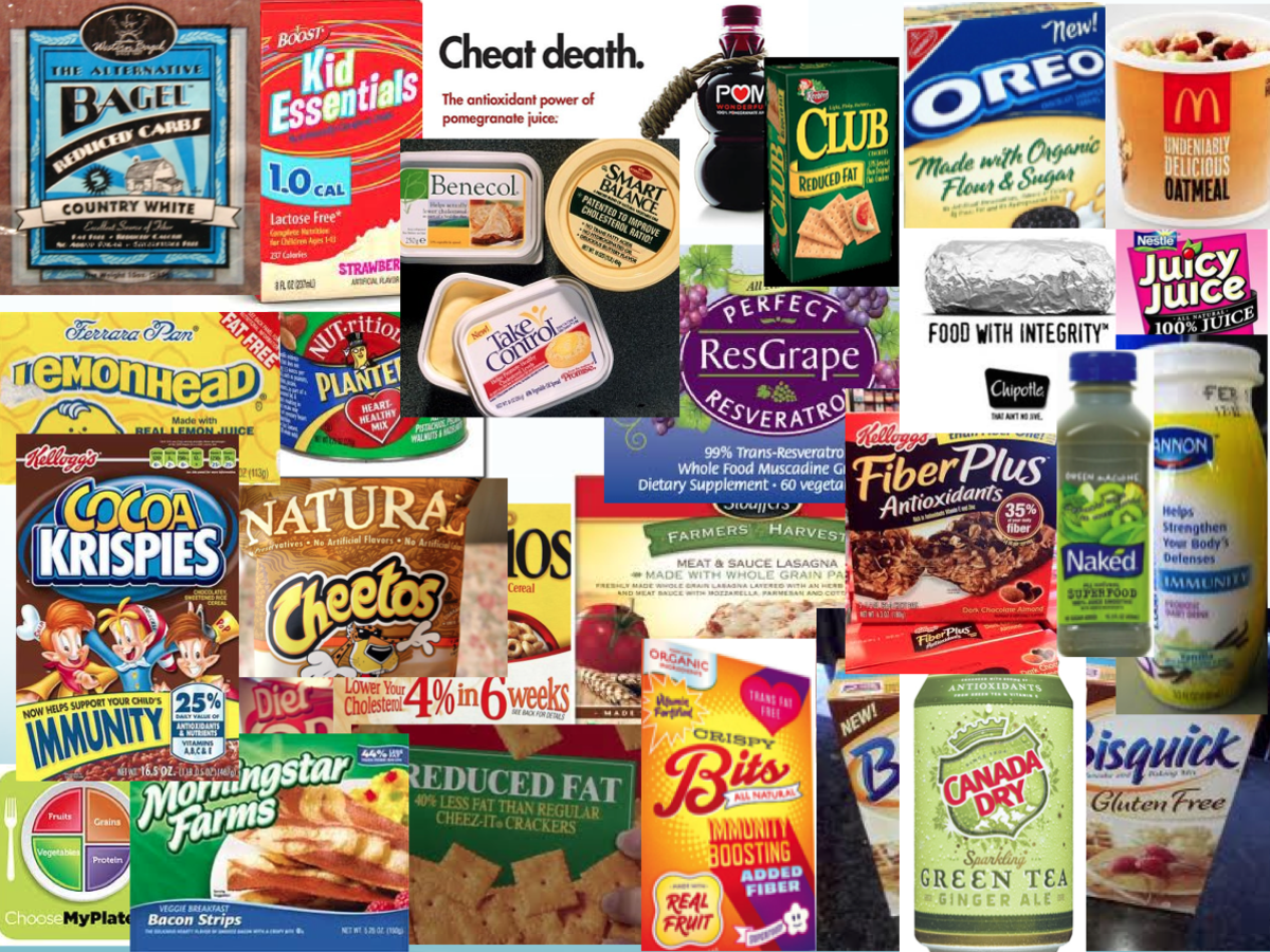 Food companies are always making health claims on food packages-if you take your nutrition advice from Nestle or General Mills you will not be eating much healthy food