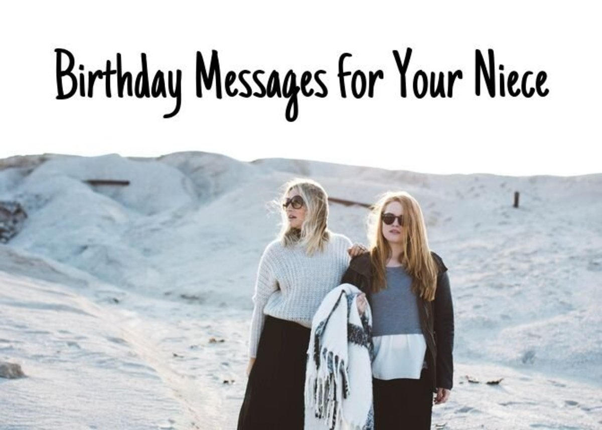 Happy Birthday Wishes, Poems, and Quotes to Send Your Niece
