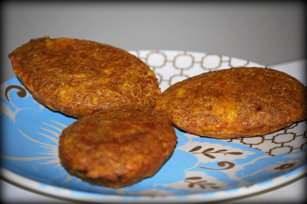 Island Bites: Alcapurrias (Puerto Rican Green Banana & Root Vegetable Fritters)