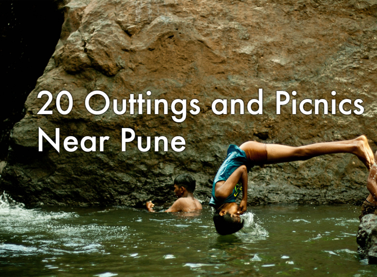 Top 20 One-Day Picnics, Trips, and Outings Near Pune