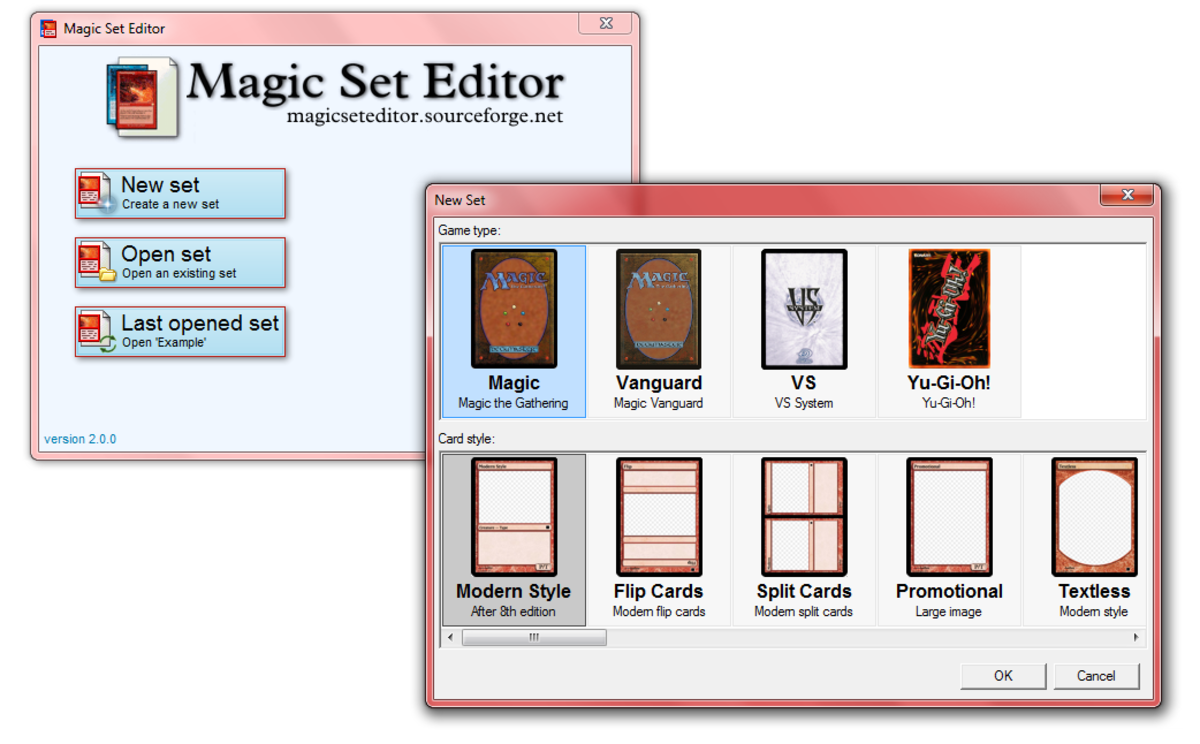 Magic Set Editor is a fun and easy-to-use tool that will help you bring your wildest MTG card ideas to life.