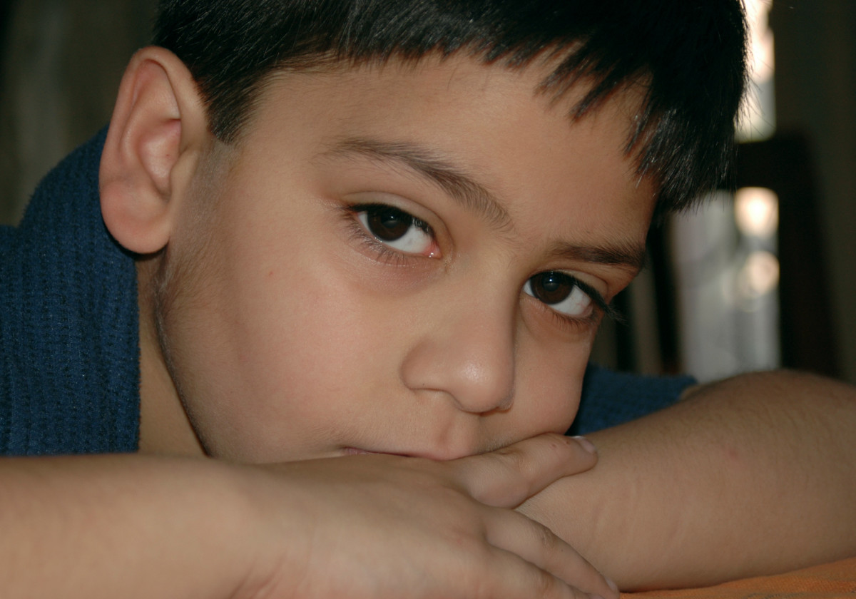 Trauma in childhood could have severe and long-lasting effects on the child's life..