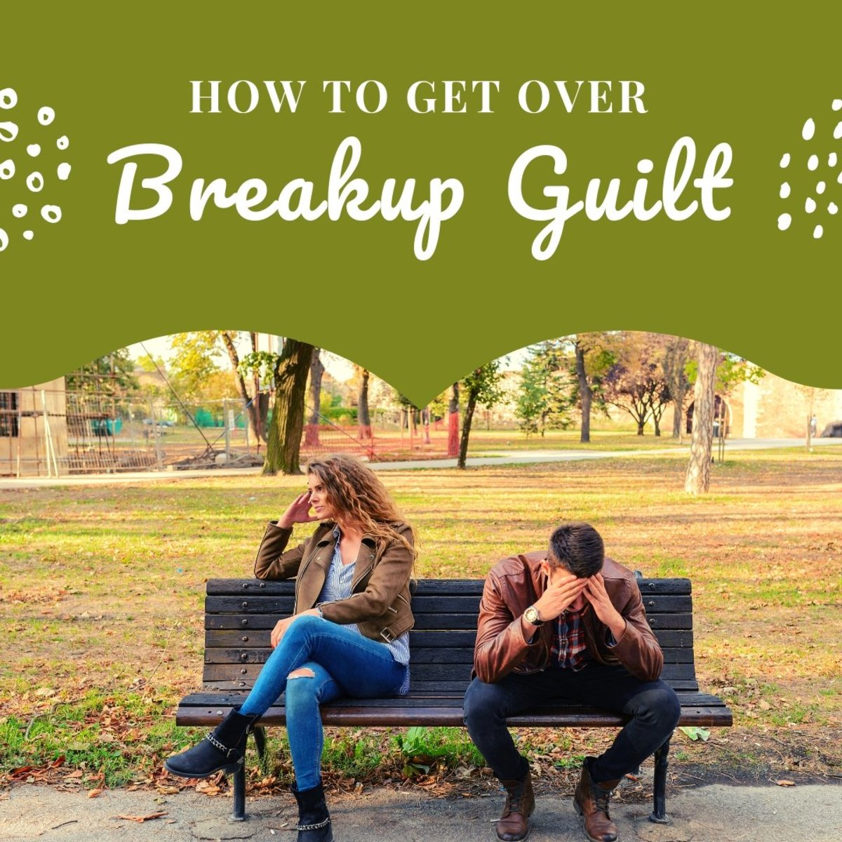 Don't let the feeling of guilt pin you down unnecessarily after a breakup.