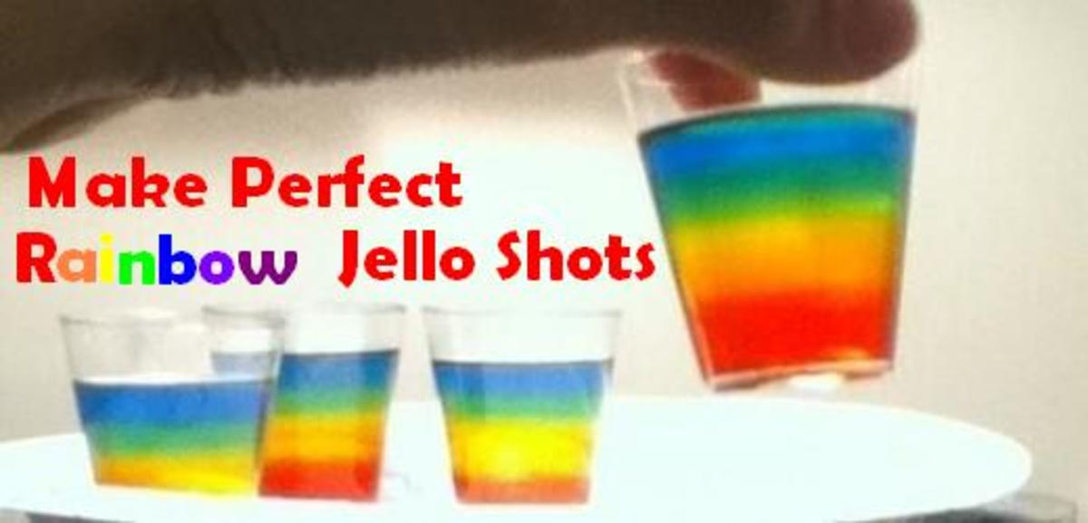 How to Make Rainbow Jell-O Shots: Recipe With Pictures
