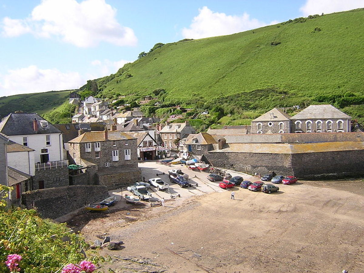 Port Isaac: Where Doc Martin is Filmed.