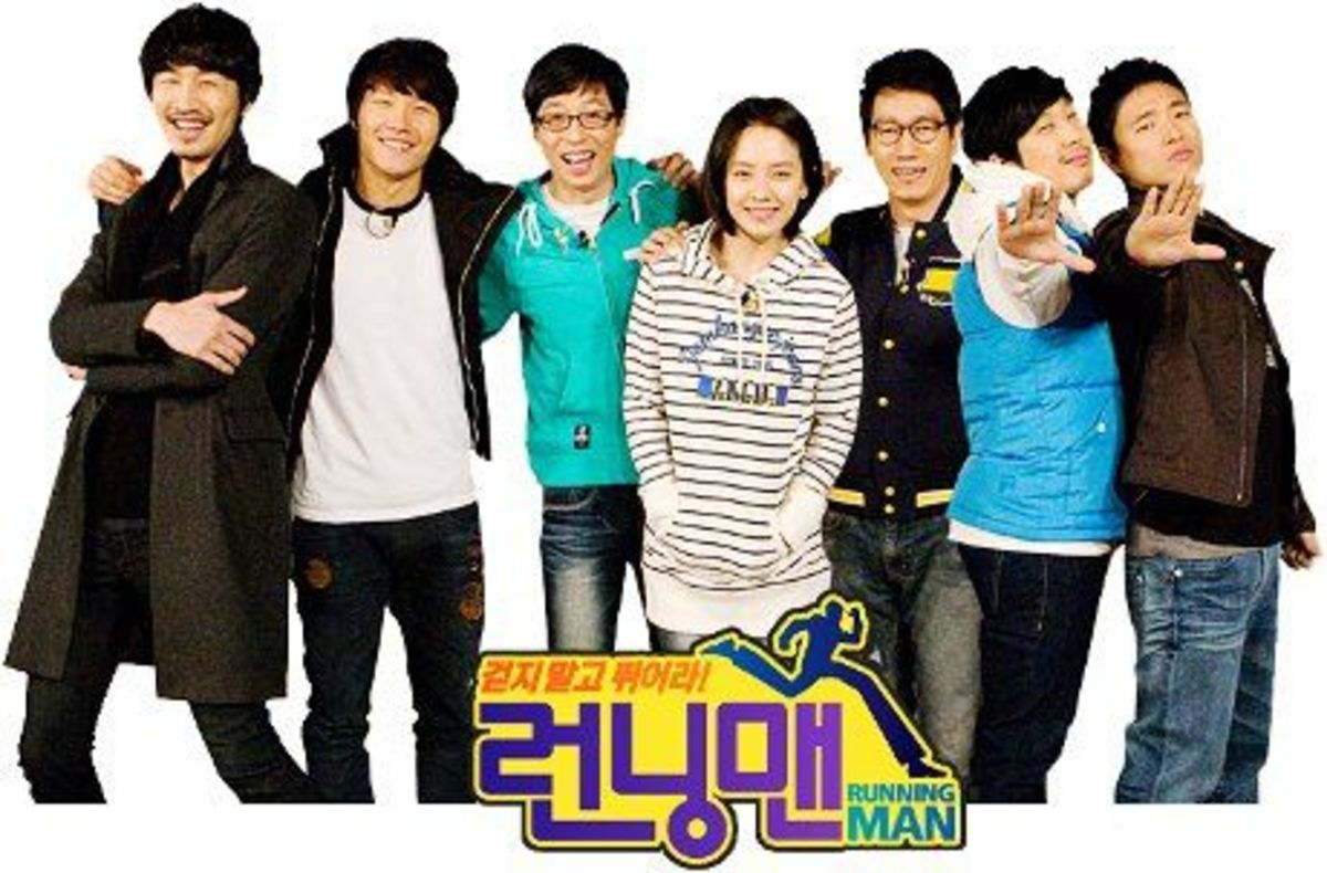 "Running Man is a popular Korean variety show that features a revolutionary ""urban adventure"" format."